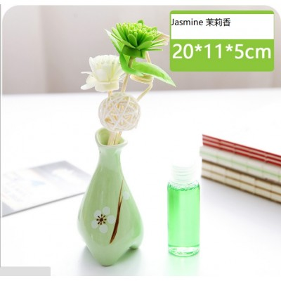 Aroma Set with Rattan Flower (No Fire)