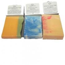 3 Essential Oil Soap Set (free soap bubble net)