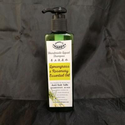 Handmade shampoo with essential oil - anti hair falls