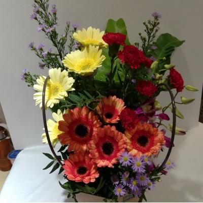 Fresh Flower Bag/basket