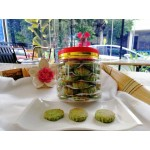 Freshly made Green Pea Cookies