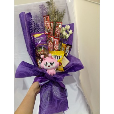 Chocolate/ Soap Flower Bouquet