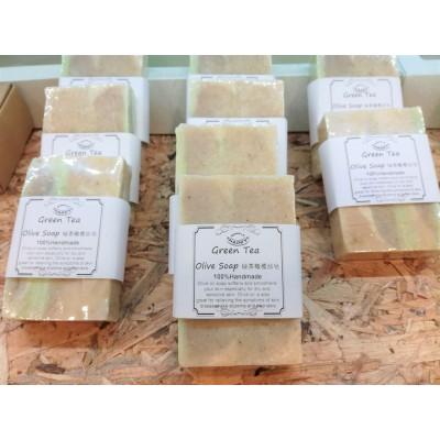 Green Tea Olive Handmade Soap