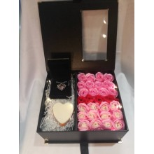 Premium Rose Soap Flower Box Set