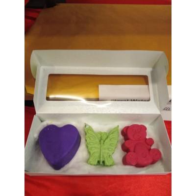 100% Handmade Fancy Soap Gift Set