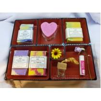 100% Handmade Soap Premium Gift Set Free Japanese box Free bubble net