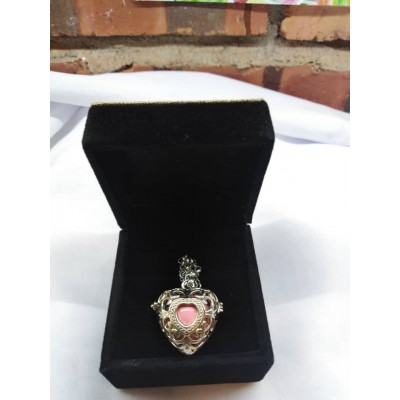 Valentines' Day Musical Necklace/ Essential Oil Necklace with jewellery box