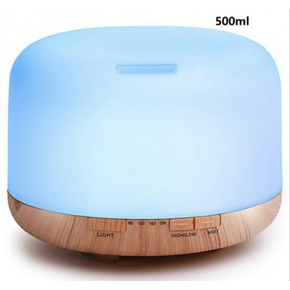 500ml Aroma Diffuser- Strong mist- 3 modes with remote control