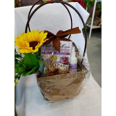 Father's Day Hamper set-cookies, handmade soap, hand sanitiser